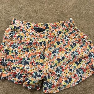 French Connection Flower Shorts